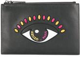 Kenzo Eye clutch - women - Leather/Patent Leather/Nylon - One Size