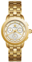 Tory Burch The Tory Classic Golden Chronograph Watch