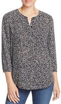 NYDJ Starflower Garden Printed Blouse - 100% Bloomingdale's Exclusive