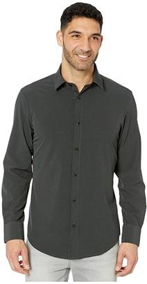 Mizzen+Main Leeward Banks Performance Shirt (Black) Men's Clothing