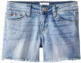 Hudson Jeans Big Girls' Four-Inch Super Soft Raw-Edge Short