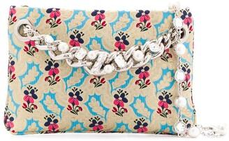 Miu Miu floral print clutch