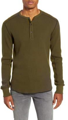 Rag & Bone Long Sleeve Henley T-Shirt
