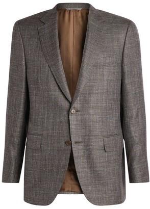 Canali Wool-Silk-Linen Blazer