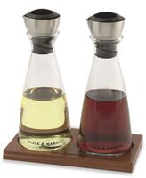 Cole & Mason Oil and Vinegar Gift Set with Flow Select