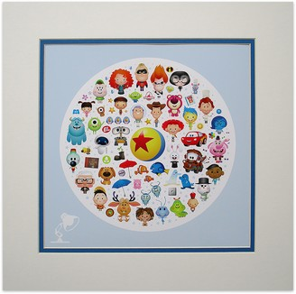 Disney ''World of Pixar'' Deluxe Print by Jerrod Maruyama