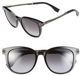 Fendi 51mm Retro Sunglasses