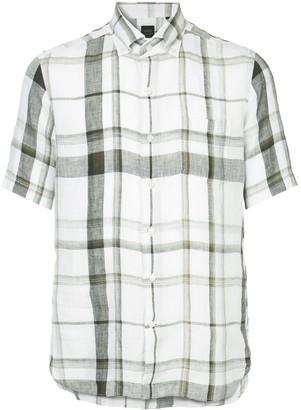 Durban D'urban plaid short sleeve shirt