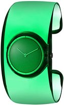 Issey Miyake Women's 'O' Quartz Stainless Steel and Plastic Casual Watch