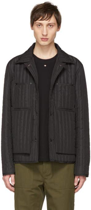 Craig Green Black Quilted Worker Jacket