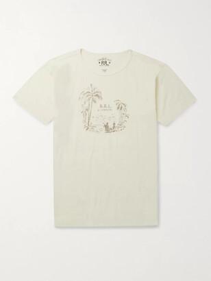 Ralph Lauren RRL Printed Cotton-Jersey T-Shirt