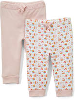 Sweet & Soft Pink Cupcakes Joggers Set - Infant