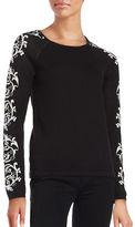CeCe Long Sleeve Crewneck Sweater