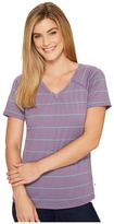 Mountain Hardwear DrySpun Stripe Short Sleeve Shirt Women's Short Sleeve Pullover