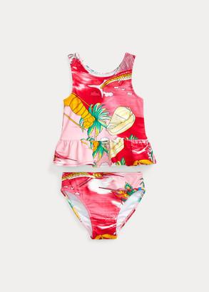 Ralph Lauren Tropical Two-Piece Swimsuit
