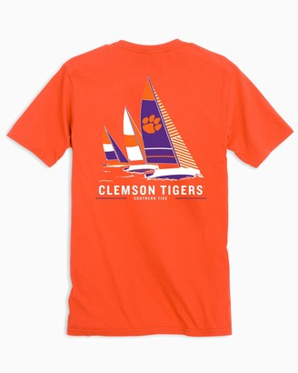 Southern Tide Clemson Tigers Sailboat T-Shirt