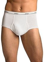 Hanes Men's TAGLESS No Ride Up Briefs Comfort Flex Waistband 3X-5X 5Pk Underwear