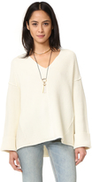 Free People La Brea V Neck Sweater