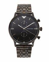 Emporio Armani AR1934 Men's Black IP St Steel Chronograph Watch