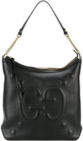 Gucci GucciGhost embossed bag - women - Leather - One Size