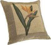 Brentwood Panama Jacquard Chenille Knife Edge Decorative Pillow, 18-by-18-Inch
