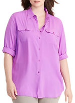 Lauren Ralph Lauren Plus Earlene Jersey Workshirt