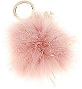 Kate Spade Faux-Fur Pom Pom Keychain