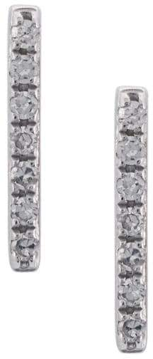 Ef Collection bar stud earring