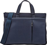 Barneys New York MEN'S NYLON & SAFFIANO EXPANDABLE SLIM BRIEFCASE