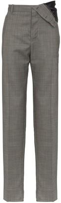 Y/Project Asymmetric Wool-Blend Trousers