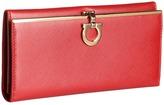 Salvatore Ferragamo 4633 Icona Continental Wallet Wallet Handbags