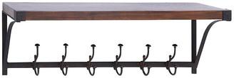 Uma Enterprises Wood & Metal Shelf