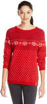 Woolrich Women's Mohair Wool Fair Isle Sweater