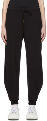 Chloé Black Crepe Loose Lounge Pants