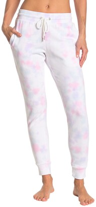 90 Degree By Reflex Brushed Tie Dye Joggers