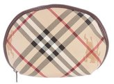 Burberry Haymarket Check Cosmetic Bag