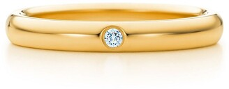 Tiffany & Co. Elsa Peretti band ring Diamond, 18k gold