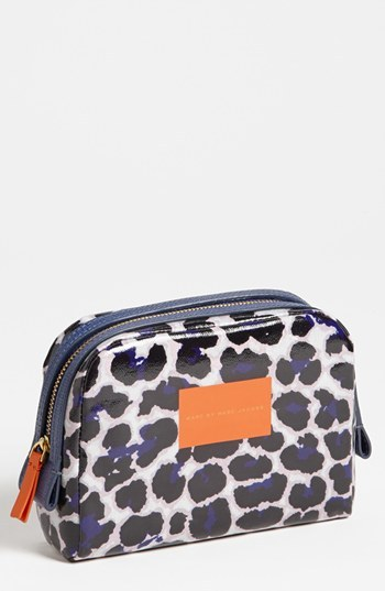 Marc by Marc Jacobs Animal Print Cosmetics Pouch