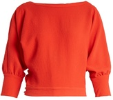 Rachel Comey Tempe deep V-back long-sleeved top