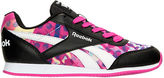 Reebok Girls' Grade School Royal Classic Leather Jogger Casual Shoes