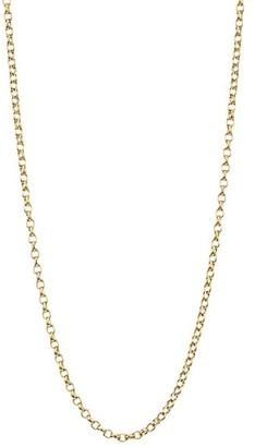 "Tamara Comolli 18K Yellow Gold Belcher-Link Chain Necklace/21""-23"""