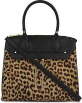 Aldo Darocey leopard spot zip tote