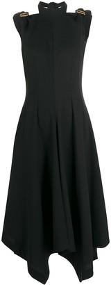 Loewe Asymmetric-Hem Dress