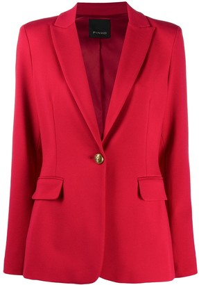 Pinko Single-Breasted Blazer