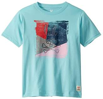 Psycho Bunny Kids Graphic Tee (Toddler/Little Kids/Big Kids) (Antigua) Boy's T Shirt
