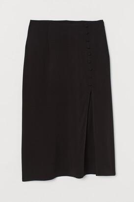H&M High-split Skirt