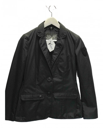 Nobis Black Cotton Jacket for Women