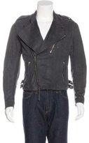 CNC Costume National Suede Moto Jacket