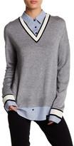 Joie Belva Layered Twofer Sweater
