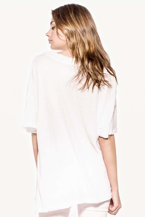 Wildfox Couture Bright Wing Favorite Tee in Clean White